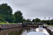 Into our first lock