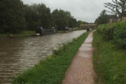 The mooring in Middlewich
