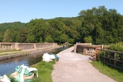 Panoramic view of Dundas Aquaduct