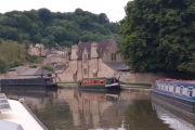 Approaching the last locks in Bath