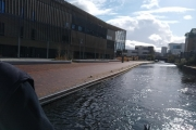 Our moorings at Aston University