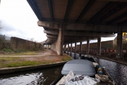 The canal under the M5