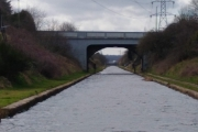 The Tame Valley Canal - very straight!