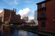 Approaching Gas Street Basin