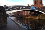Lots of these ornate footbridges in Birmingham