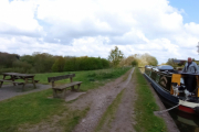 Our mooring at Rode Heath