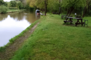 The only boat at Bramble Cuttings!