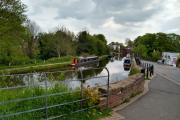 Our mooring in Lymm