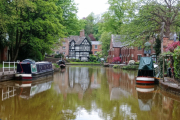 The canal at Worsley