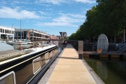 Our mooring in Bristol Floating Harbour