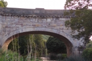 Avoncliff Aquaduct from the pub gardens