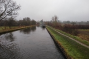 Our moorings at the bottom of The Knowle Lock Flight