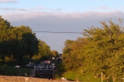 Evening sun on the canal