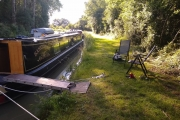Lovely mooring spot