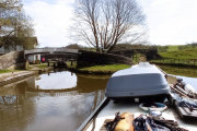 The junction of the Caldon Canal and the Leek Branch