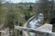Going over the aqueduct