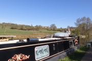 Our moorings at Engine Lock
