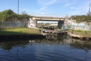 Pomona Lock onto the Manchester Ship Canal