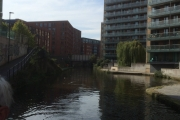 Approaching Castlefields Basin