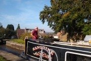 Marple Locks - with lovely views beyond
