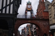 The famous clock tower