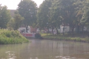 Our mooring in Middlewich