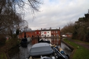 Approaching Fradley Junction from the Coventry Canal