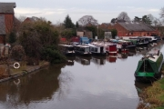NB Sanguine back at JD Narrowboats, Shardlow