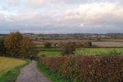 Great views from Bosworth Memorial