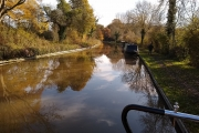 Ashby Canal - picturesque with the autumn colours
