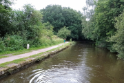 Our mooring just outside Crooke