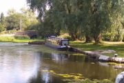 The mooring at the top of the Wigan Flight