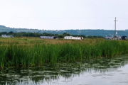 Our beautiful mooring spot with panoramic views