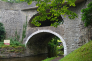 An interesting double-arched bridge at East Marton