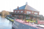 The pub at Alvecote Marina