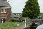 The first lock on the Rufford Branch