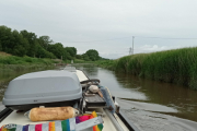 Out onto the river we go