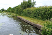 Our mooring at Swillbrook