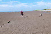 Walking on the sands