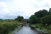 Heading down the Glasson Branch