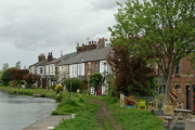 The row of cottages at Burscough, New Lane