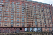 The old tobacco warehouse