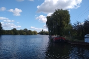 Leaving the Kennet and Avon and onto the Thames