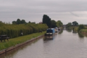 Our mooring at Nantwich