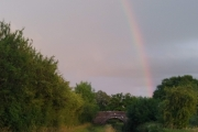 After the thunder comes a rainbow
