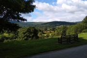 Gorgeous scenery on approaching Llangollen