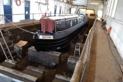 All painted and ready to refloat