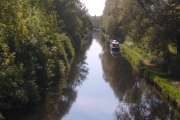 Our mooring at Autherly Junction