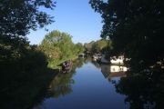 Our mooring at Br 55 at Goldstone