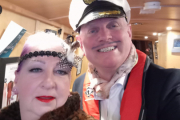 Captain Crawley-Bumble and Madame Who-de-Wotwot